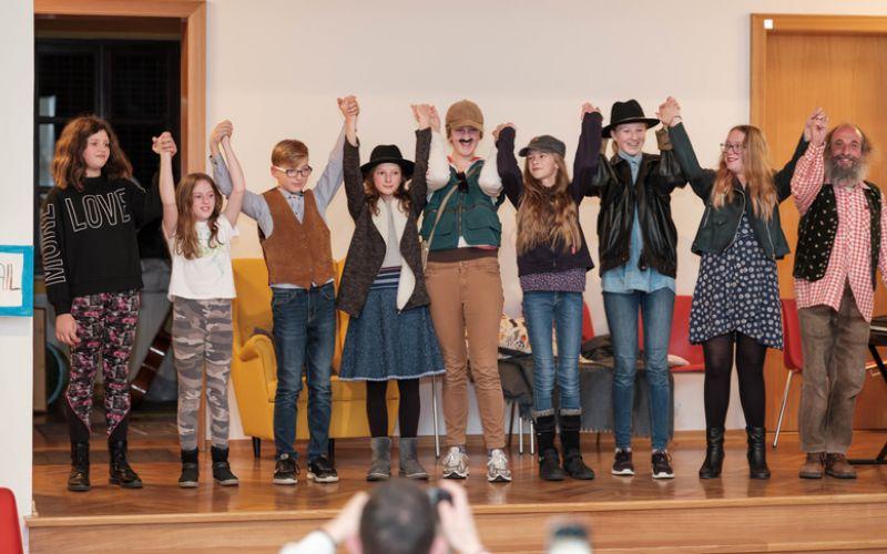 Theateraufführung - Rückblick